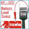 Тестер, за акумулатори, товарна вилка, 6-12V, 20-100Ah, Telwin, T200
