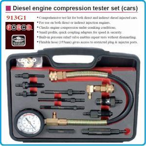 Компресомер, за дизелови двигатели, 13 части, к-т, 70Bar, Force, 913G1
