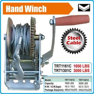 Лебедка, ръчна макара за изтегляне с въже, 10m, 725 или 1360kg, Maxwell