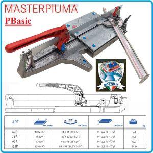 Машина за керамика, теракот, гранитогрес, 4 размера, 22x630-930mm, Montolit, PIUMA BASIC 63-125PB