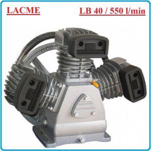 Компресорна глава, бутална, маслена, 440 L/min, 10Bar, Lacme, LB 40