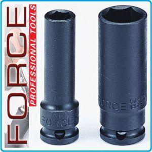 """Вложка ударна дълга, усилена, 12.5mm, 17 размера, 10-32mm, 1/2"""", Force"""