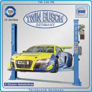 Подемник двуколонен, крик, долна синхронизация, 3.6t, Twin Busch, TW 236 PE