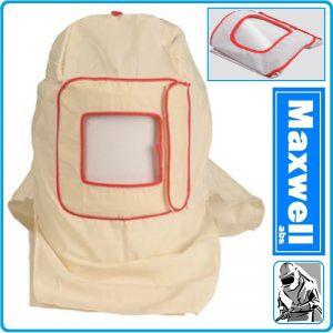 Маска, шлем, за бластиране, пясъкоструене, предпазен к-т, Maxwell