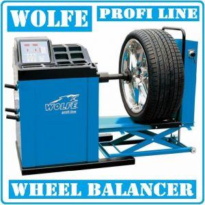 """Баланс машина, за тежкотоварни гуми, 13""""-24"""", 400V, Wolfe, W850"""